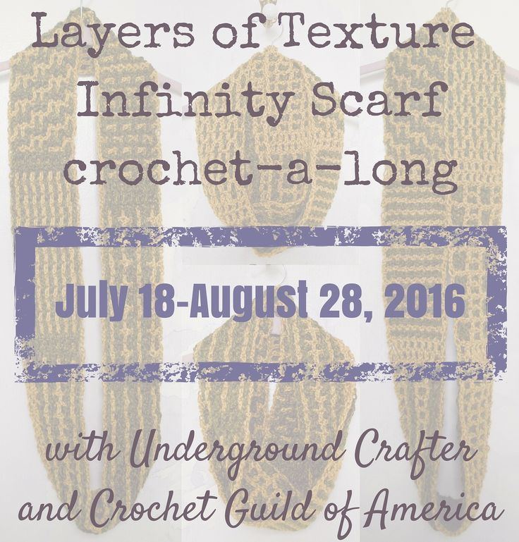 Crochet Guild Of America : ... Crochet-a-Long with Underground Crafter and Crochet Guild of America