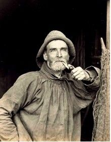 Victorian photos - Cobles in Art & Antiques: Man of the Sea