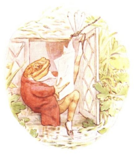 http://www.fiction.us/potter/jf/jf.htmFrogs Call, Jeremy Fisher, Beatrix Potter, Peter Rabbit, Damp House, Jeremias De, Potter Illustration, Book Illustration, Children Book