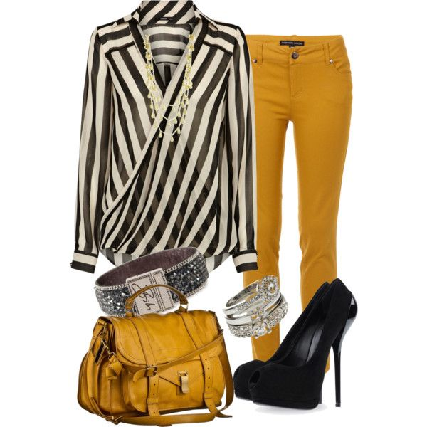 """""""mustard jeans"""" by c-michelle on Polyvore"""
