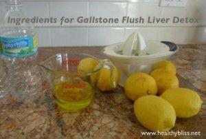 Gallstone Liver Flush - Recipe & Cleanse Info - Liver Detox - Gallbladder Cleanse - Olive Oil, Lemon Juice and Epsom Salt Flush | Jennifer Thompson