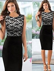 Women's Lace Splicing Sleeveless Bodycon Dress. Get wonderful discounts up to 70% at Light in the box with Coupon and Promo Codes.