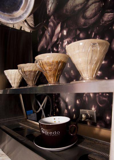 Credo Coffee home