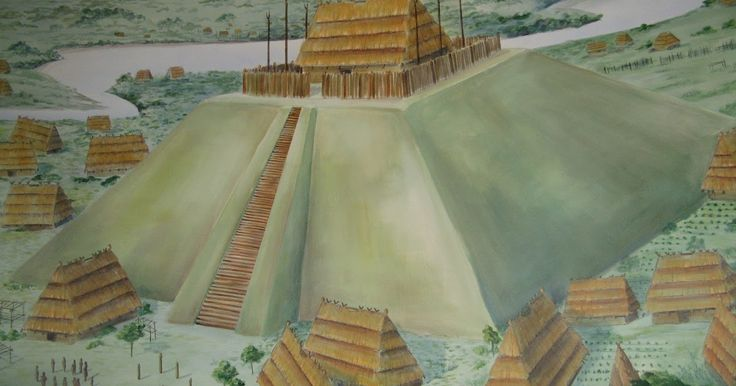 Pyramids were part of Cherokee Indian culture, here in North America. A part of history that somehow passed me by. I'm always gratified to l...