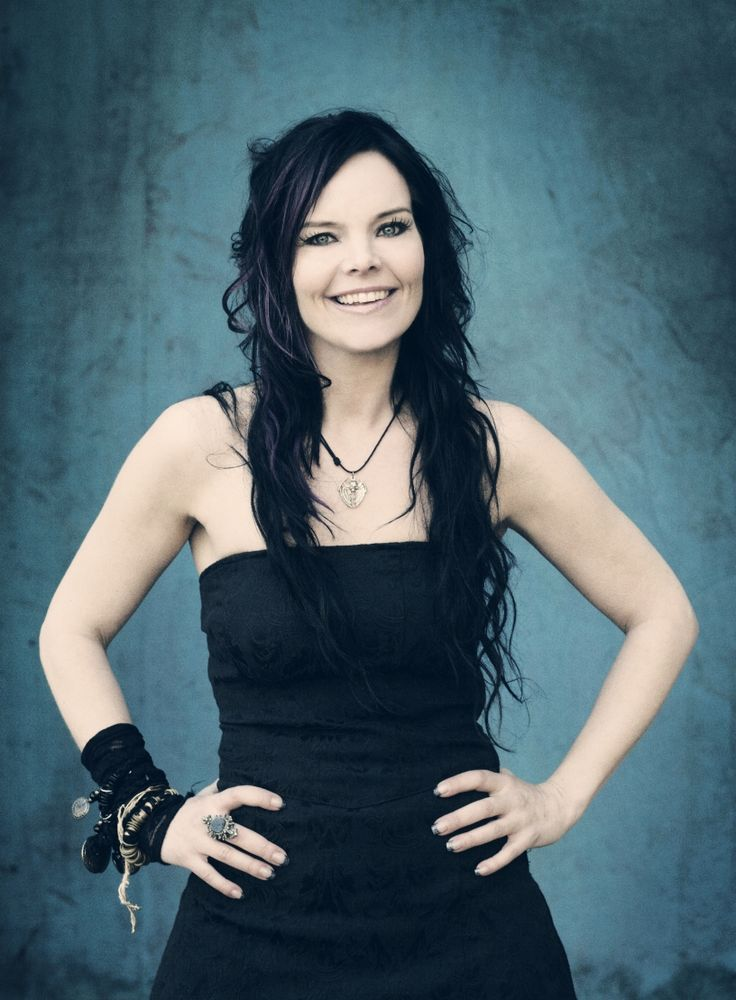 Anette Olzon, the second former Nightwish singer. On the two studio CDs she recorded with the band plus one live CD her voice is absolutely devine...