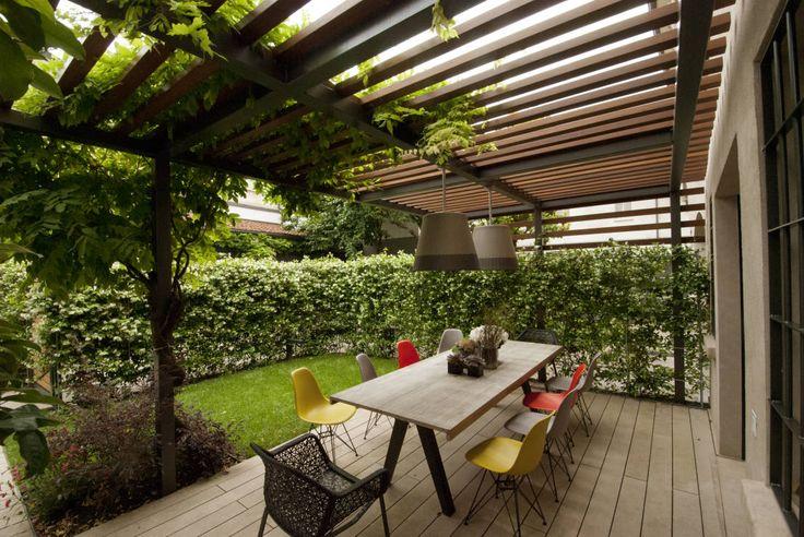 Come sfruttare gli spazi non usati in giardino. https://www.homify.it/librodelleidee/664563/come-sfruttare-gli-spazi-non-usati-in-giardino