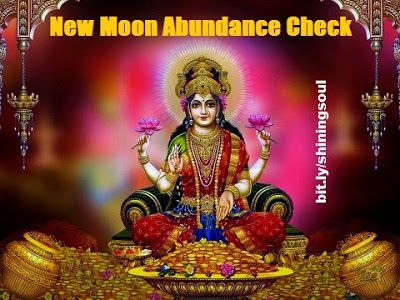 ShiningSoul: New Moon Abundance Check #June / Cheque da Abundân...