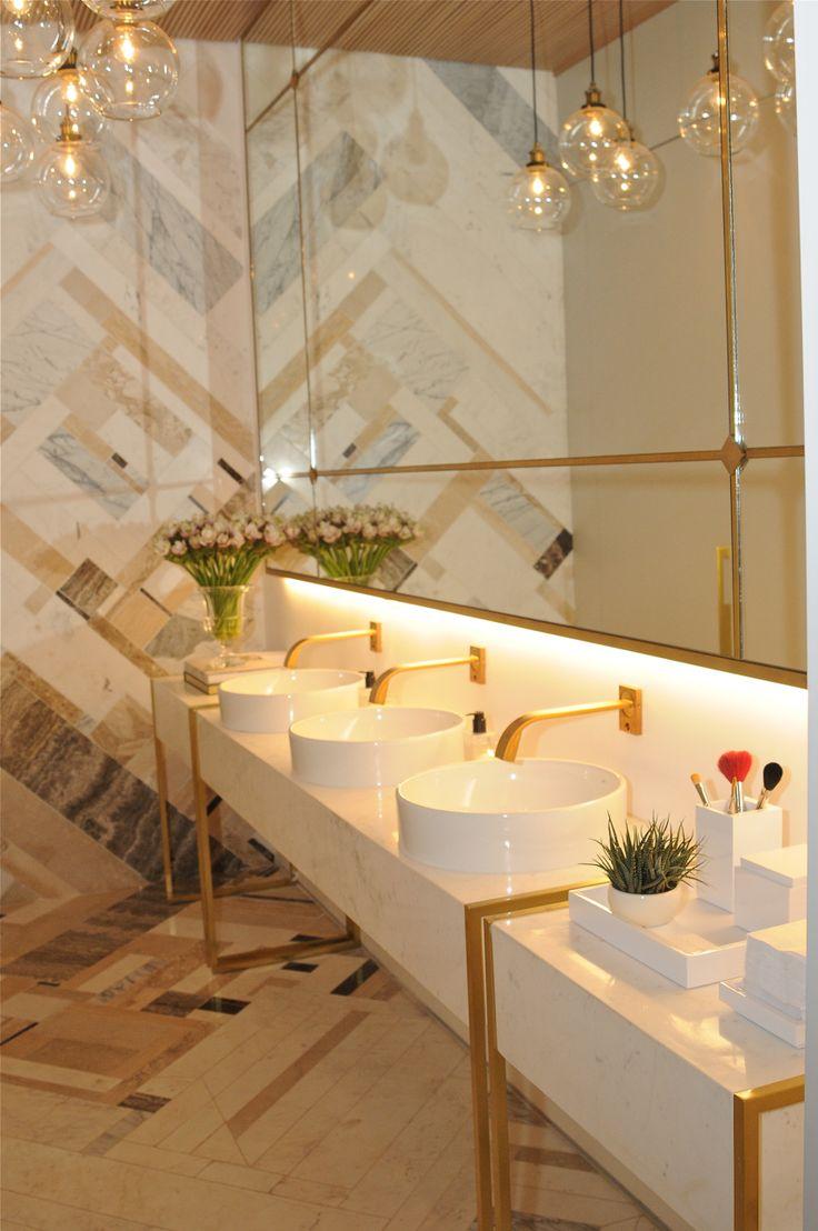 Rose Gold Bathroom Decor Ideas