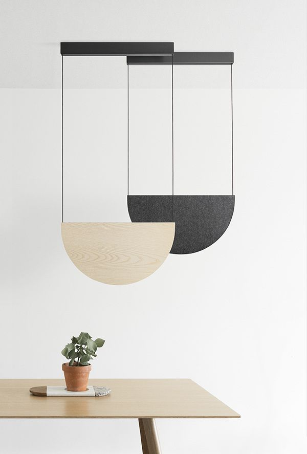 Johan van Hengel created not only a lamp, but also the mood and soul to it. One has to be light to live in that type of lightness.