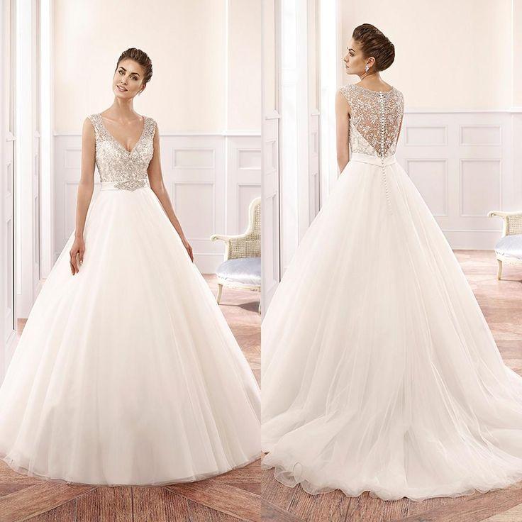 Top Wedding Dress Designers Custom Made Vintage 2015 Plus Size Dresses Crystals Cheap Bridal Ball