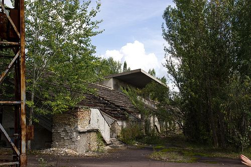 The stadium in Pripyat