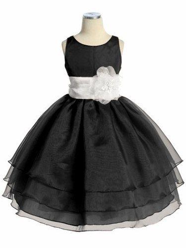 vestidos negros de gala de ninas - Buscar con Google