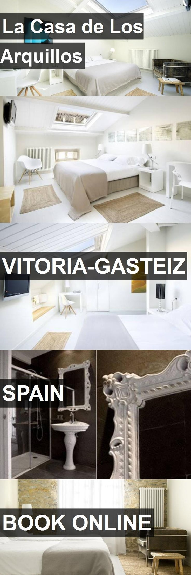 Hotel La Casa de Los Arquillos in Vitoria-Gasteiz, Spain. For more information, photos, reviews and best prices please follow the link. #Spain #Vitoria-Gasteiz #travel #vacation #hotel