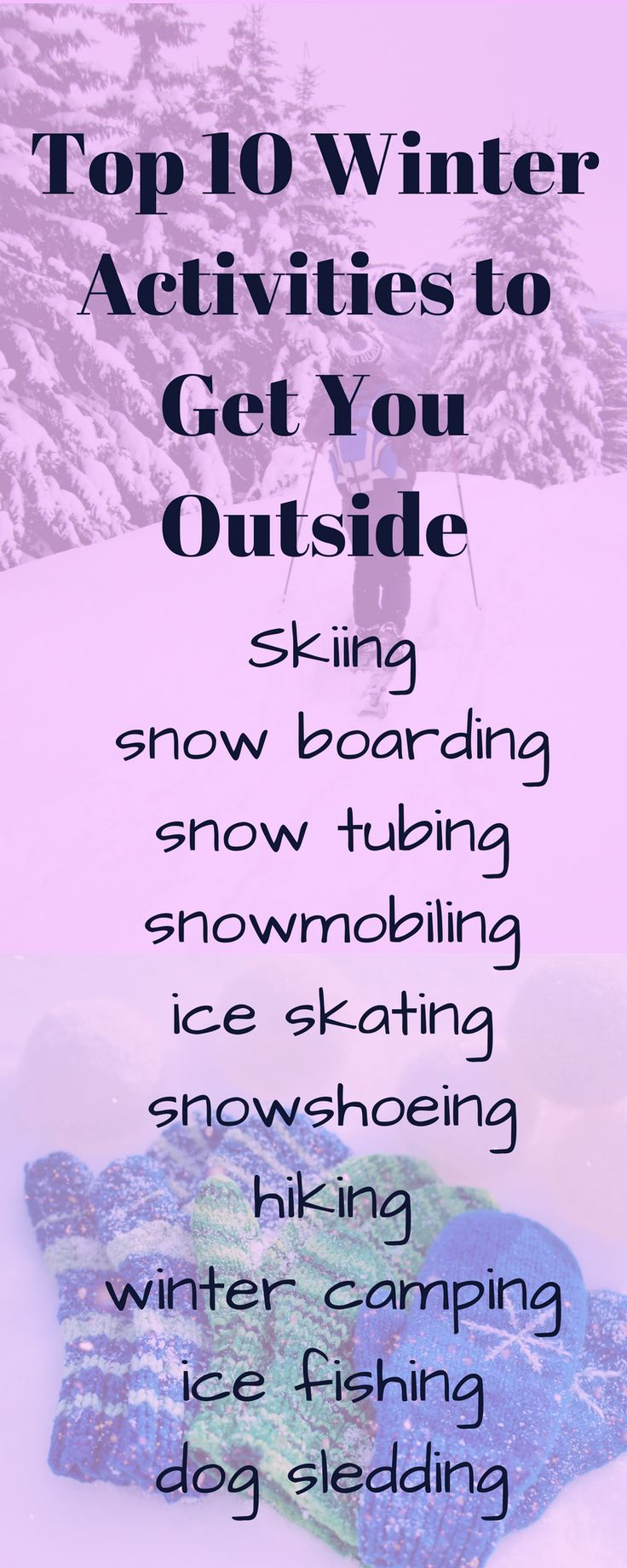 Why Ontario is the Ultimate 4 Seasons Playground, A four part series #ontario #winteractivities #getoutside