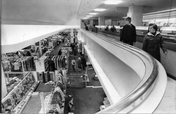 Inside Woolworth in 1980