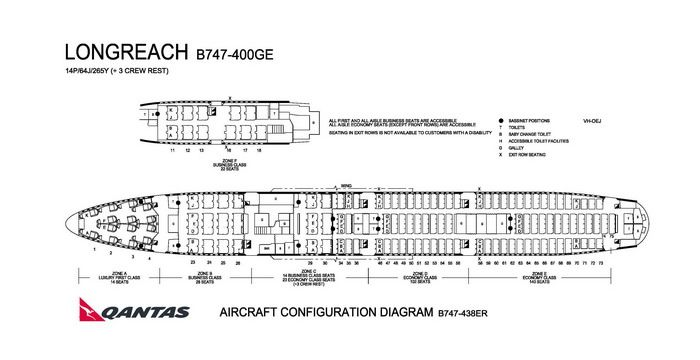 Qantas Airlines Boeing 747 400ge Aircraft Seating Chart Australian Airlines Qantas Airlines Airlines