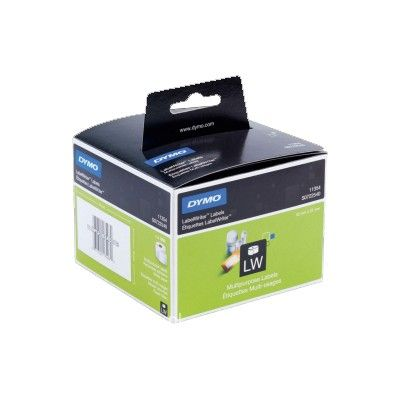 ROLLO ETIQUETAS DYMO 57x32 PAPEL. Etiquetas térmicas para rotuladoras Dymo Label Writer. Disponibles en varios colores. Blanco, Amarillo, Rosa, Azul y verde. Tamaño 57x32mm.