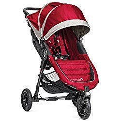 Baby Jogger 2014 City Mini GT Single Stroller, Crimson Red/Gray