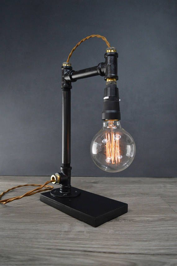 Ampere Black Bronze Pipe Lamp In 2019 Lampe Pipe Lamp Pipe