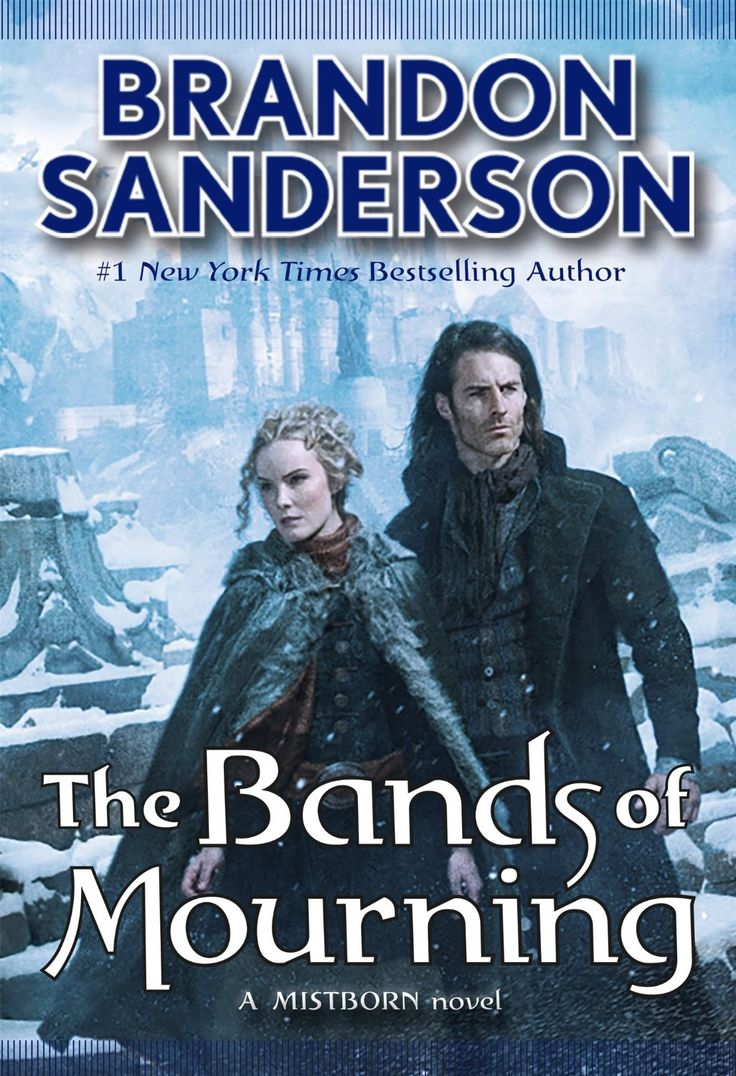The Bands of Mourning (Mistborn) by Brandon Sanderson | 448 pages | Tor Books | January 26, 2016