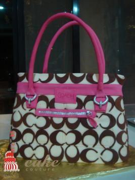 Cute Coach purse b-day cake :)