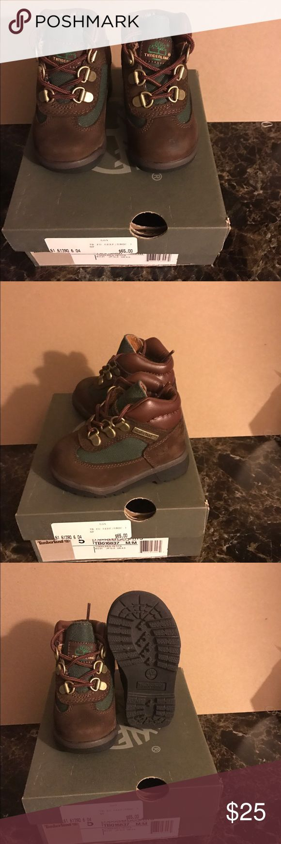 Infant/toddler timberlands boots Beef and brocs toddler timberland boots in great condition Timberland Shoes Boots