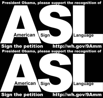 11 best American Sign Language images on Pinterest American sign - community petition