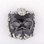 Одежда ручной работы. Ярмарка Мастеров - ручная работа Венецианская маска Bauta Barocco Silver. Handmade.