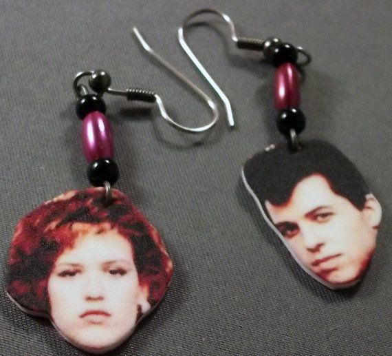 Andie and Duckie earrings by ShopNightOwlDesigns