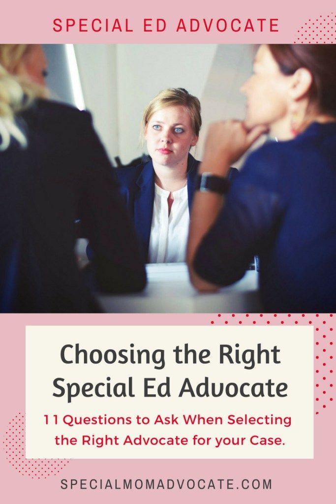 The Role Of Special Education Advocate >> 11 Questions When Hiring A Special Education Advocate Executive