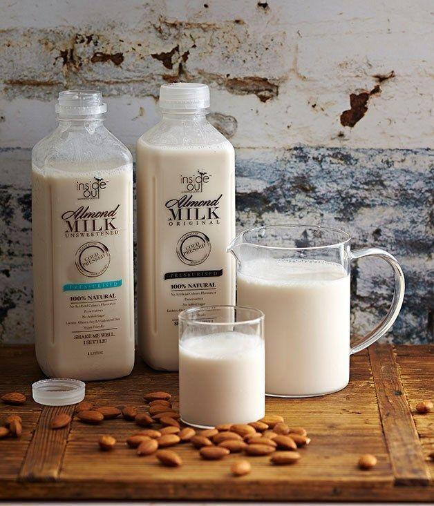 Australian Gourmet Traveller food news feature on Inside Out almond milk.