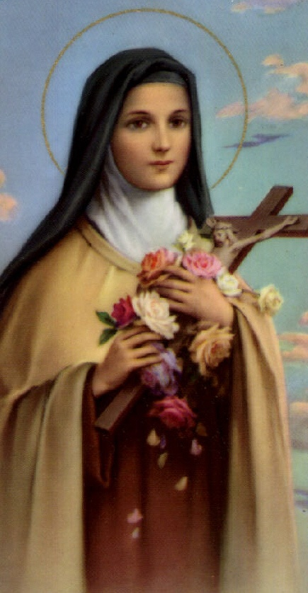 St Therese, The Little Flower.