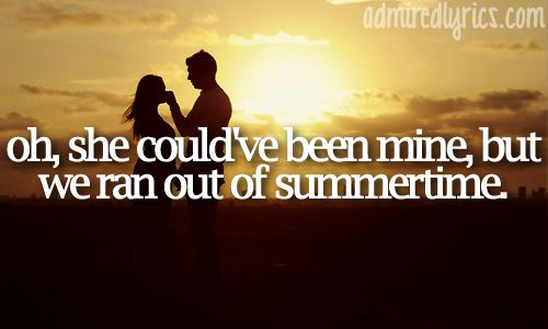 Out Of Summertime. Scotty McCreery