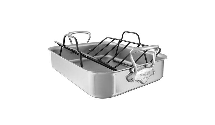 Roasting Pan and Rack Set by Mauviel #MONOQI