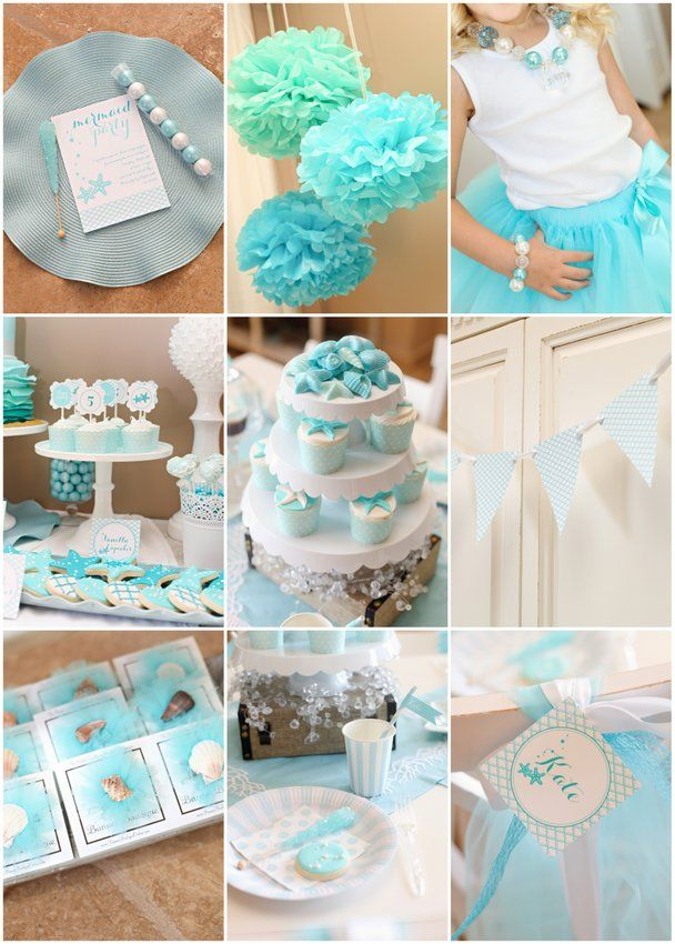 when #uPARTY like a #mermaid by the sea make it #aqua pretty as can be