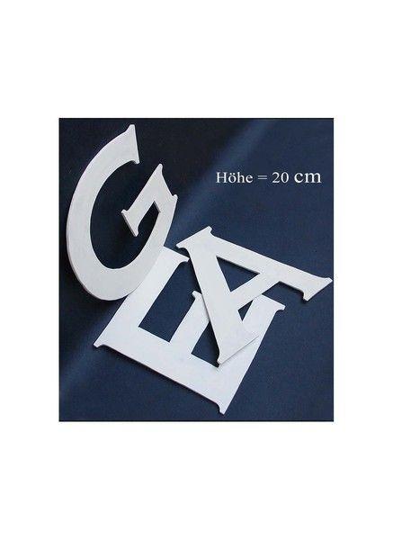 20 cm hoch, 3 mm  stark - Raumworte aus Holz - von Buchstabenzauber  auf DaWanda.com