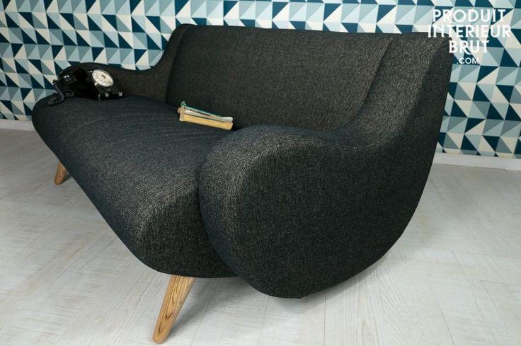 Zweisitzer-Sofa Genève, elegant und chic, Wohnzimmerinspiration