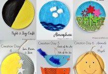 7 Days of Creation Craft – Sunday School