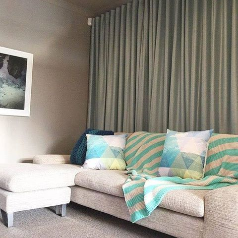 Dollar Curtains & Blinds Wavefold Curtains #dollarcurtainsandblinds #aussiemade