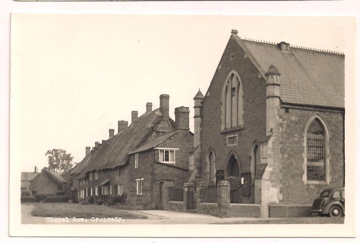 Oxon postcard Cropredy chapel Row in Collectables, Postcards, Topographical: British, England, Oxfordshire | eBay