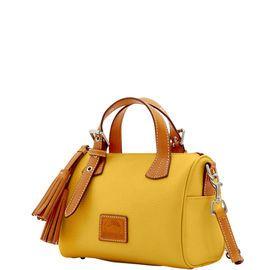 Dooney & Bourke | Patterson leather Kendra Satchel | Spring Fashion    Yellow | Trends | Trending | Yellow Handbag | Yellow Accessory | Yellow Accessories | Yellow Purse | Fashion | Style | Bold | Dandelion | Daffodil | Mustard | Lemon | Limone | Banana | Pineapple | Gold | Butterscotch | Honey | Bumblebee | Blonde | Butter | Tuscan Sun