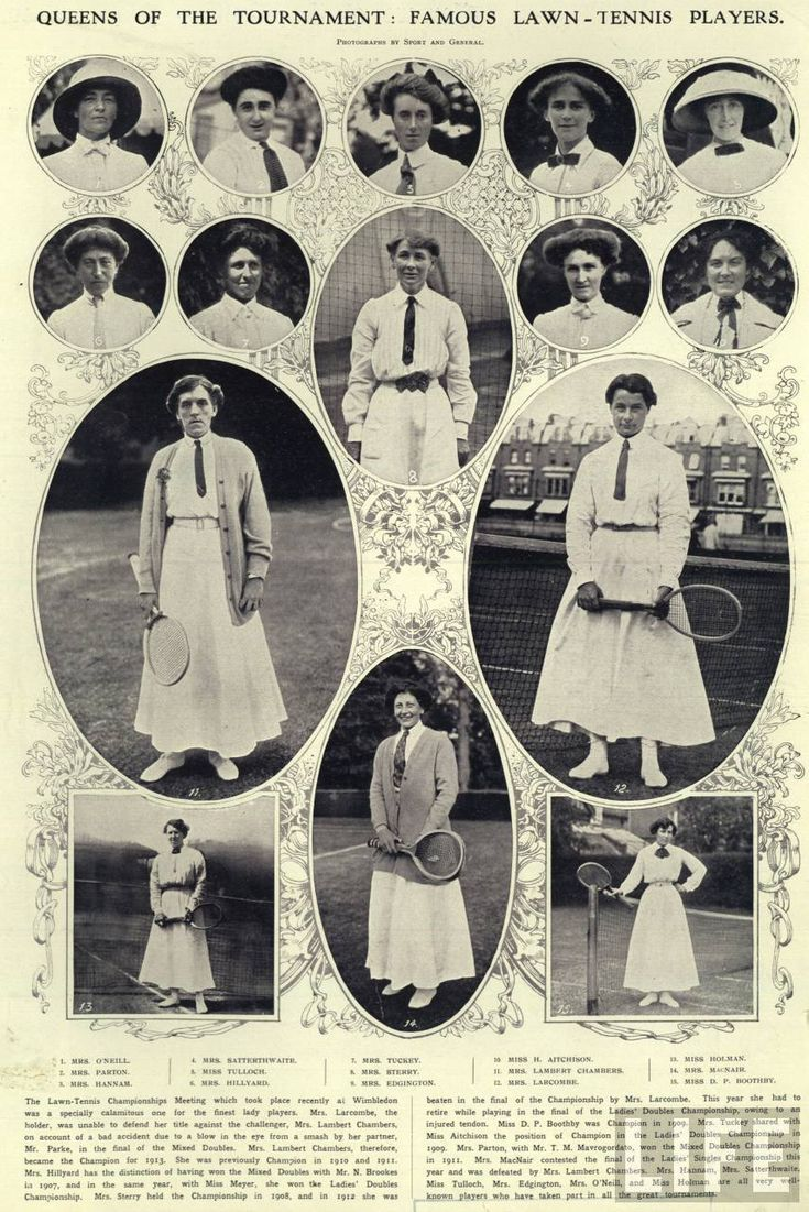 Vintage Wimbledon Ladies Fashion. Classic Lawn Tennis style Thinking of my step dad, Gene Mako, who won Wimbledon 8 times in doubles with Don Budge. He just recently passed on. Thanks Gene! Love Wimbledon history!
