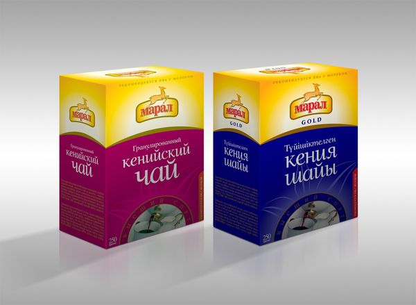 Maral, tea package design