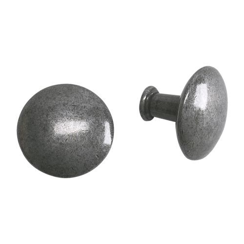 HEDRA Knob IKEA - painted knobs from Lowes to look the same for 1/2 the cost !