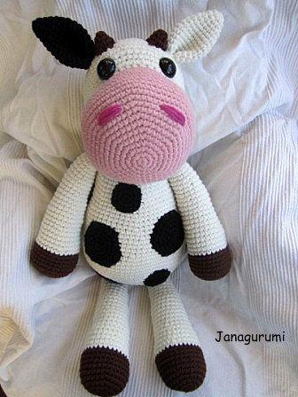 Big Cow Klara Crochet Pattern,via Etsy.