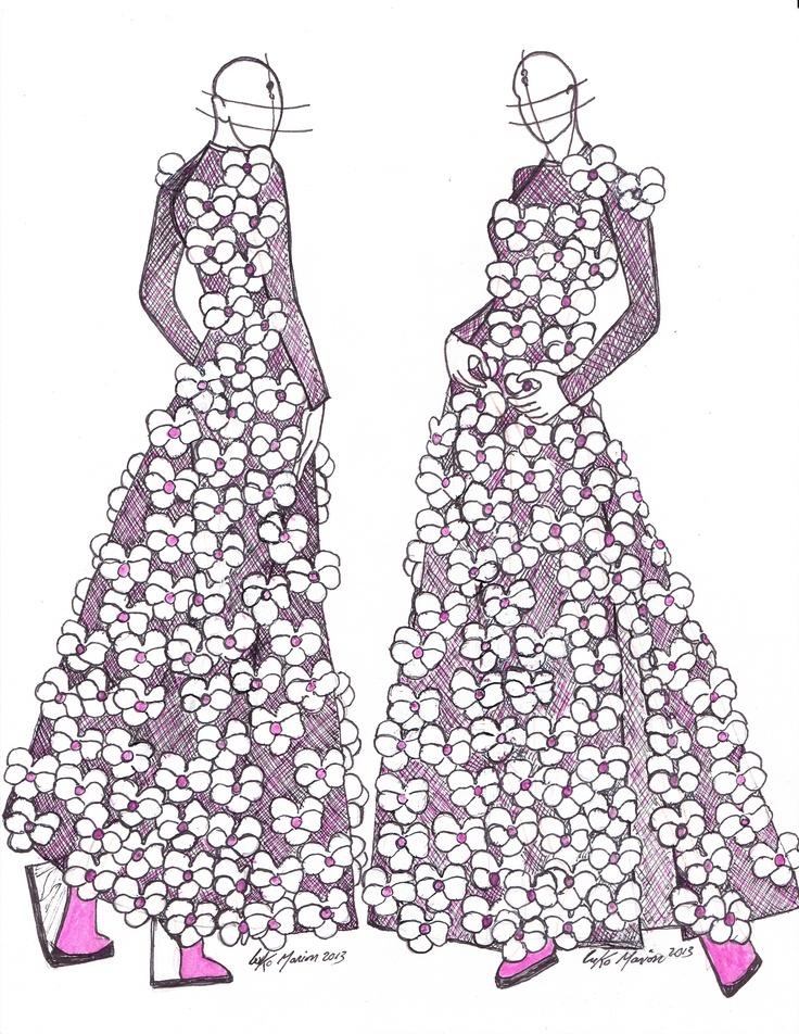 Luko Marion (L'Autre Couture) for the WCC 2013 #Cashmere10