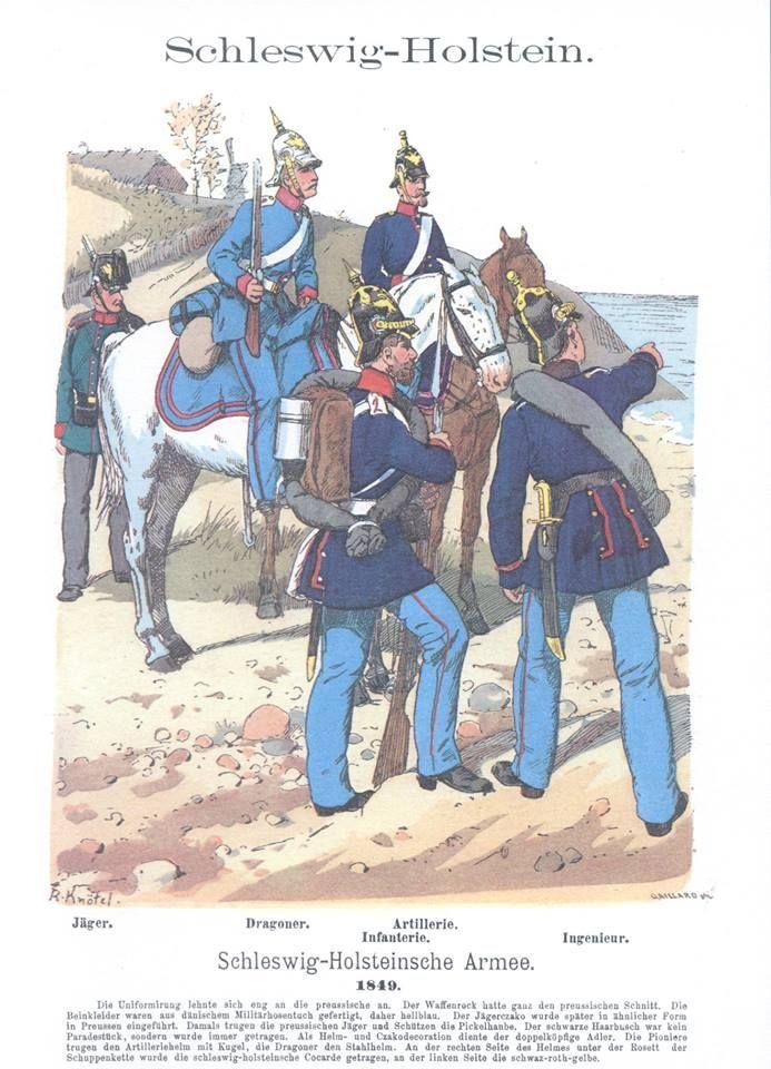 Band I #25 -  Schleswig-Holstein. Die Armee von 1849