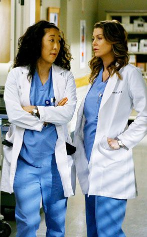 Grey's Anatomy Online | Meredith e Cristina from Il finale di Grey's Anatomy | E! Online