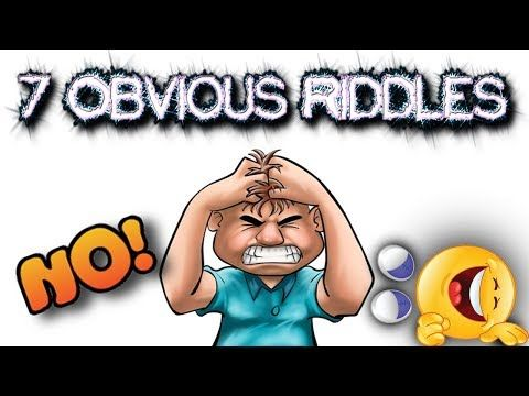 7 RIDDLES THAT WILL MAKE YOU FEEL STUPID | CAN YOU ANSWER THESE OBVIOUS QUESTIONS? - YouTube