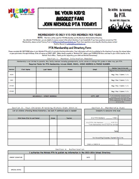 10 best PTA images on Pinterest Pta, Pto membership and School ideas - fundraising sponsorship form